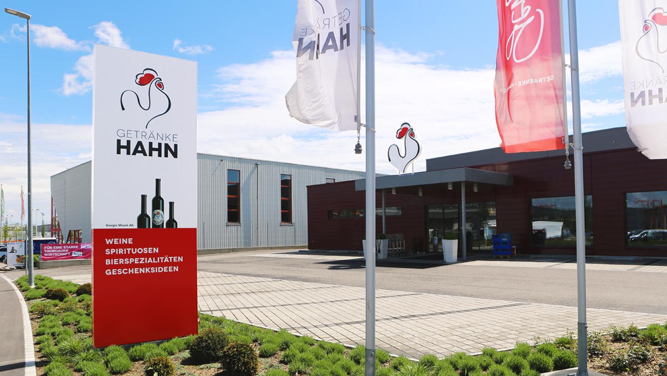 Branding - Getränke Hahn - Arbeiten - Koch Kommunikation